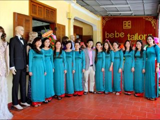 Get tailor in Hoi An