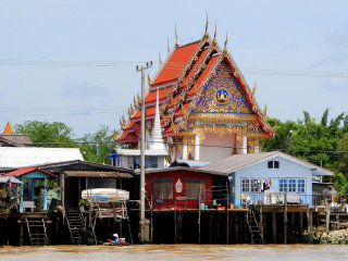 Chao Phraya River & Waterways © Pierre Pouliquin
