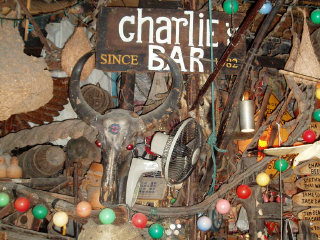 Cheap Charlie's Bar © Glenn Brown