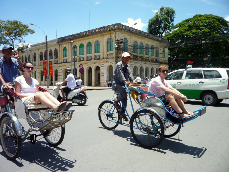 Ho Chi Minh City Cyclo Tour in Ho Chi Minh - Activity in Ho Chi Minh, Vietnam - Justgola