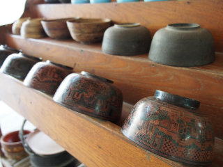 U Ba Nyein Lacquerware Workshop