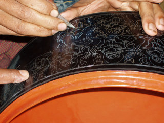U Ba Nyein Lacquerware Workshop © cjp4610