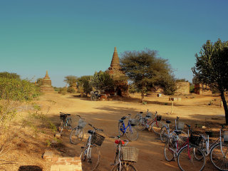 Biking in Bagan © calflier001