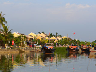 Hoi An Cyclo Tour and Boat Cruise On The River © Loi Nguyen Duc