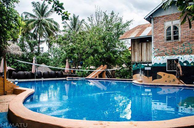 La Pistoche Swimming Pool In Luang Prabang Attraction In Luang Prabang Laos Justgola