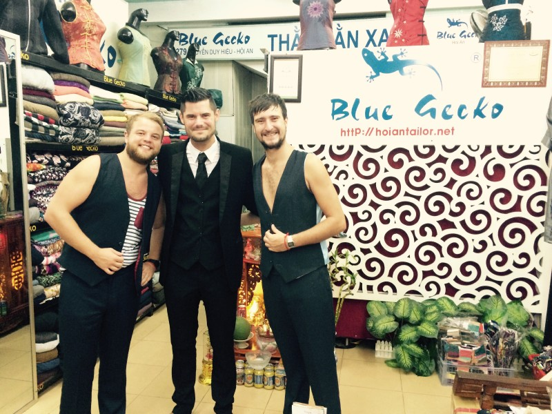 Blue Gecko Tailor in Hoi An - Shopping in Hoi An, Vietnam - Justgola