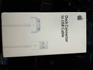iPhone 4/4s iPad Conector to USB Cable Original Apple