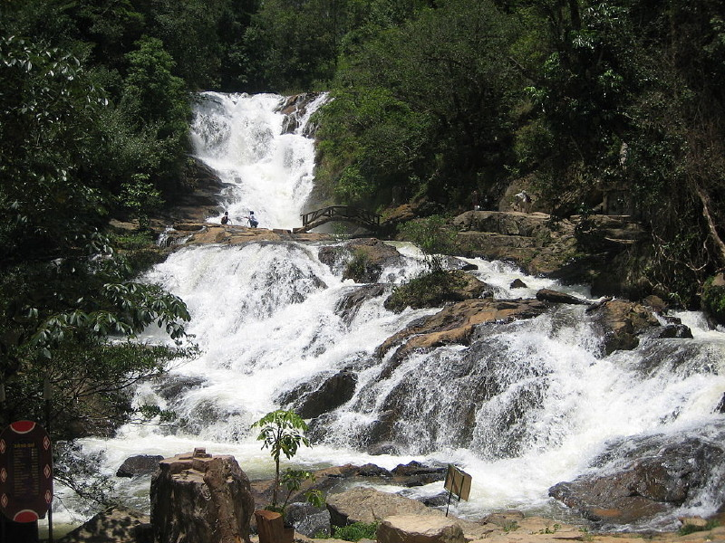 Datanla Waterfall For Adventure Lovers