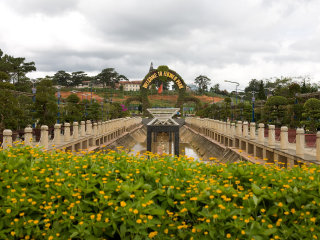 Dalat Flower Park © Caitlin Childs
