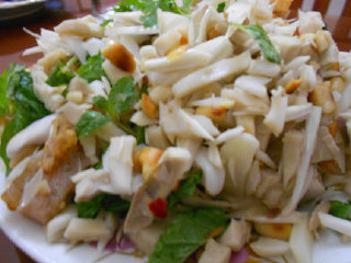 Mixed young jackfruit salad – Mit tron Son Tra © blog.tamtay