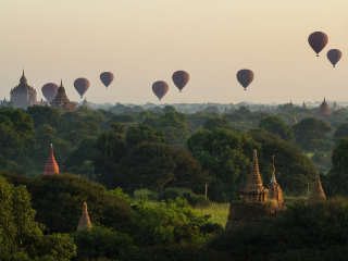 Bagan Temple Trip in 1 Day © Lily
