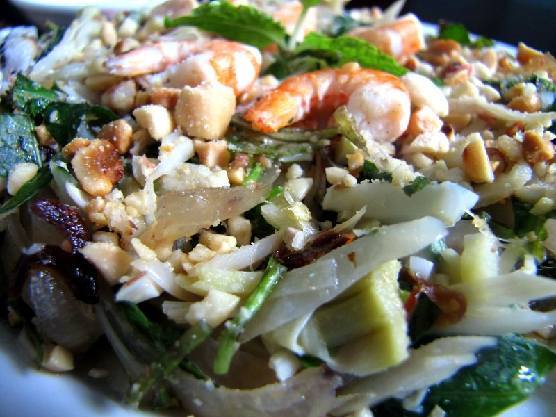 Mixed young jackfruit salad - Thuy's Shop