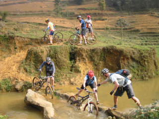 Cycling in Sapa Vietnam 1 Day