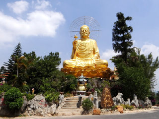 Statue Of Golden Buddha