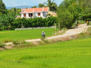 Cycling The Countryside Of Viet Nam