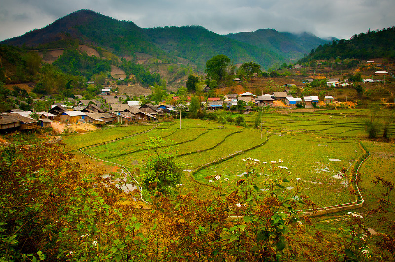Sapa Hill Tribe Easy Ride on Bicycle