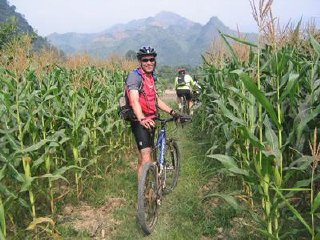 Hike and bike to Langbian mountain