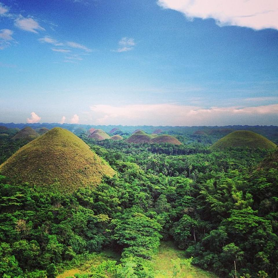 Chocolate Hills in Bohol - Attraction in Bohol, Philippines - Justgola