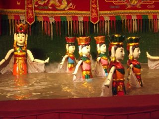 Hanoi City Tour Including Water Puppet Show and Cyclo Ride