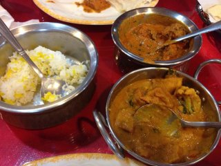 Calcutta Indian Food © Caryn H.