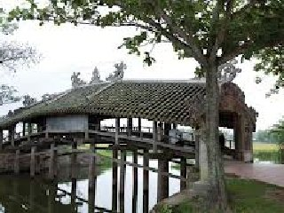 Thanh Toan Tile Roofed Bridge