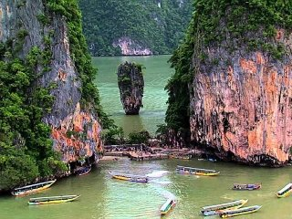 James Bond Island Tour by Longtail Boat © phukettoursdirect