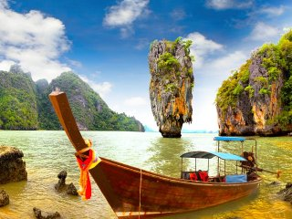 James Bond Island Tour By Cruise Boat