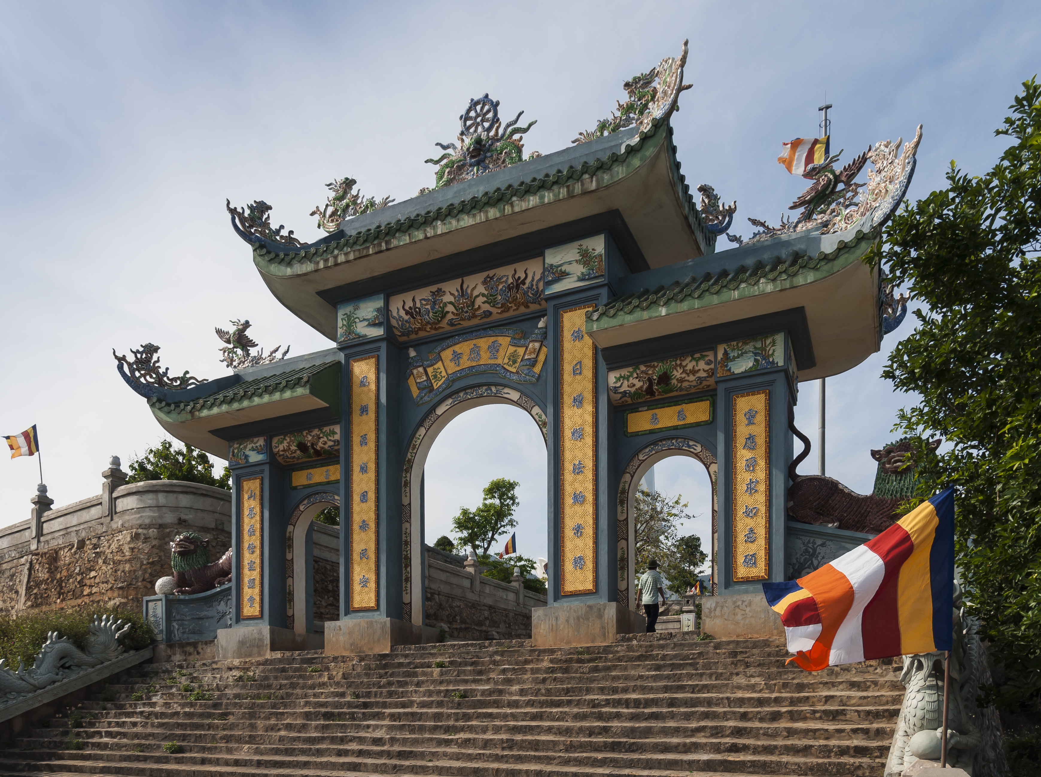 Linh Ung Pagoda In Hue Personal In Hue Vietnam Justgola
