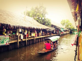 Khlong Lat Mayom Floating Market © พิริยะ All Around