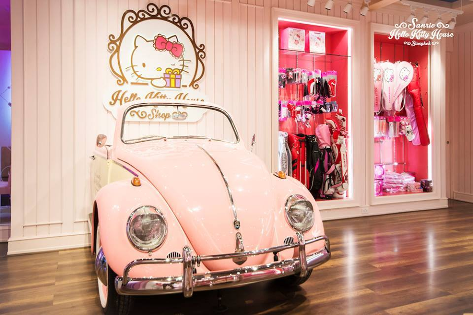 Hello Kitty House  Sanrio Hello Kitty House Bangkok