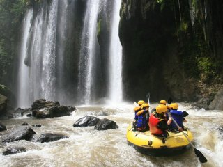 One day rafting at Pekalen river