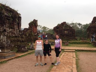BIKING full day HOI AN  to MY SON HERITAGE