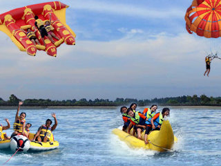 Bali Water Sports and Ubud Tour