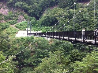 Kinu Tateiwa Otsuribashi (Suspension bridge) © MEIKIYOAIPAPA