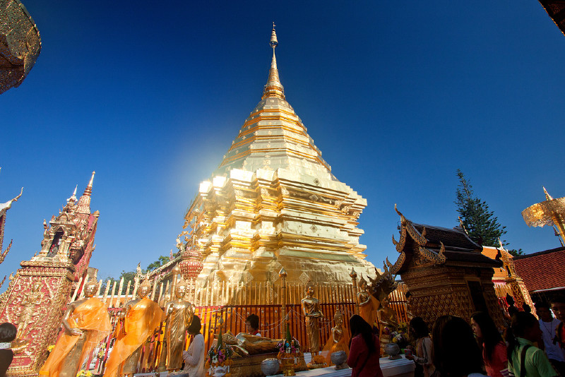 Doi Suthep Temple & Home Handicrafts Village