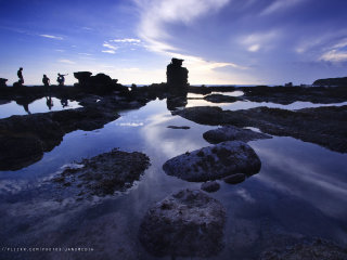 The High Cliff at Melasti Beach © I Nengah Januartha