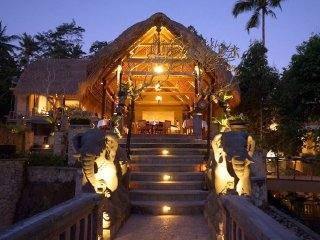 Kepitu Restaurant at The Kayon Resort © Kepitu Restaurant at Kayon Resort