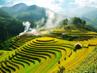 Discover the North West Vietnam by Motorbike all route - Hanoi - Mu Cang Chai - Sapa - Hanoi 5D4N