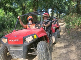 Krabi White Water Rafting, Elephent Trekking and ATV © krabitrek