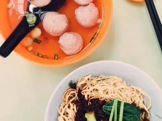 Soong Kee's Beef Ball Noodles © Gary Hor
