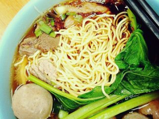 Soong Kee's Beef Ball Noodles