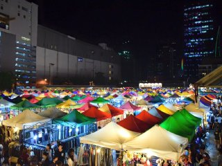 Ratchada Train Night Market © Train Night Market Ratchada