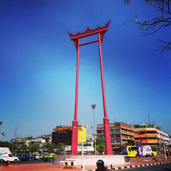 Giant Swing In Bangkok Attraction In Bangkok Thailand