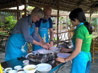 Hue Eco Tour Including Biking-Farming-Fishing and Cooking Class © HGH Travel