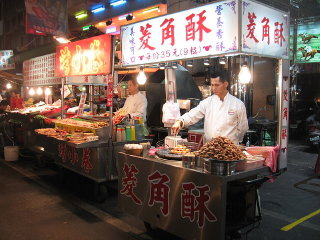 Liuhe Tourist Night Market © Sengkang