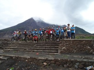Mt.  Merapi Volcano Biking Tour