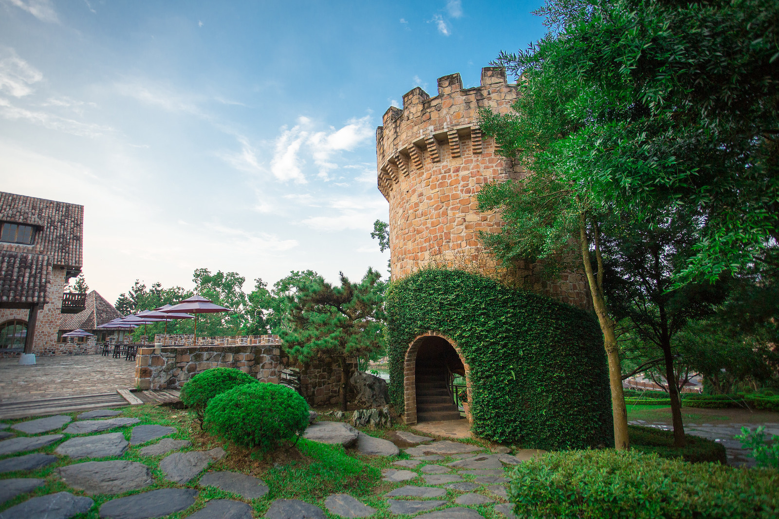 Xinshe Castle In Taichung Attraction In Taichung Taiwan Justgola