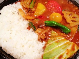 Vegetable Curry – Camp © takec176