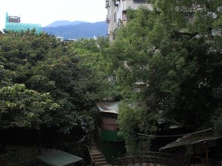 Beitou Quanyuan Park Foot Bath Area © Escape 2 Taiwan