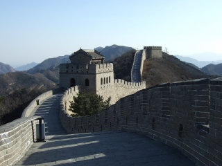 The Great Wall At Badaling © chinaoffseason